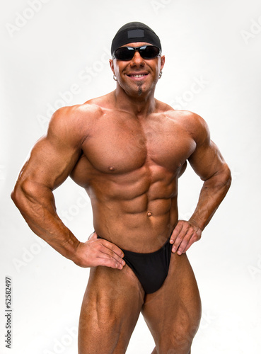 Portrait of bodybuilder