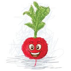 happy happy radish