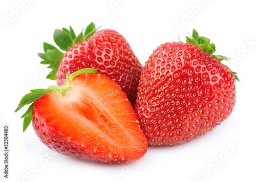 Papiers peints Magasin alimentation strawberry