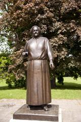 Clara Zetkin Monument im Clara-Park Leipzig