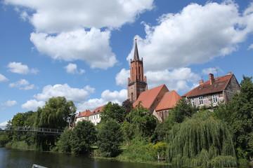 An der Havel in Rathenow