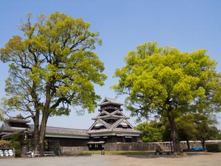 Kumamoto Castle tower, Japan