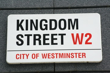 Kingdom Street famous london street