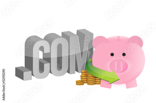 internet profits illustration design