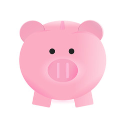 piggy bank illustration design