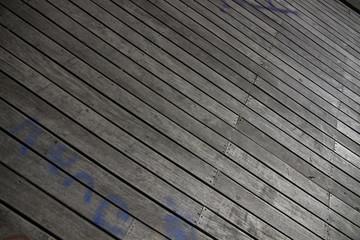 Textura de deck, tablas de madera al exterior.