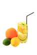 Citrus Fruits Infused Water.