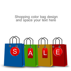 Shopping bag and tag