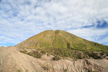 Mountain Batok in Tengger Semeru National Park, East Java, Indon