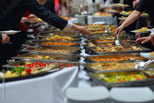 In de dag Buffet, Bar buffet food