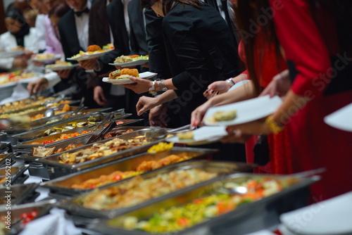 Poster Buffet, Bar buffet food