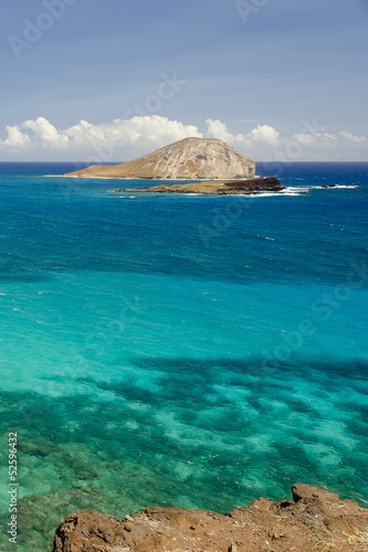 View of Rabbit Island, Hawaii