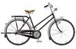 昭和レトロな実用自転車