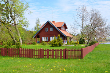 The rural house in Nida, Lithuania