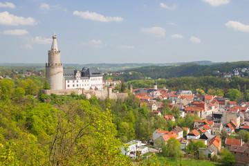 Osterburg, Weida, Fluss, Vogtland, Thüringen