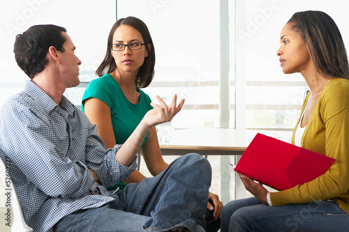 Couple Having Relationship Counselling