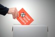 Your vote counts - Gehen Sie wählen!