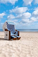 neuer Strandkorb hochkant