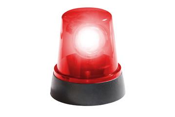 Rotlicht leuchtend