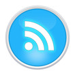 rss icon light blue circle