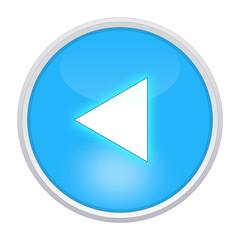previous icon light blue circle