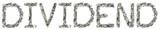 Dividend - Crimped 100$ Bills poster