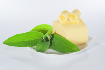 Butter with sage