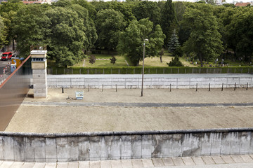 East-West Berlin Original Border Section