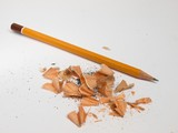 Just sharpened pencil