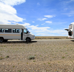 Minibus & Bus parking on Roadside