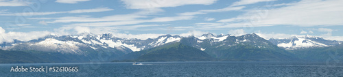Alaska prince william sound panorama