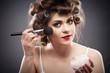 Woman beauty style portrait