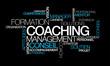 Coaching formation conseil management nuage de mots image