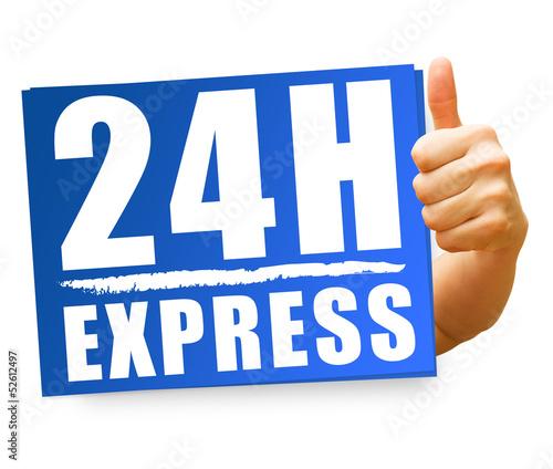 24H Express! Button, Icon
