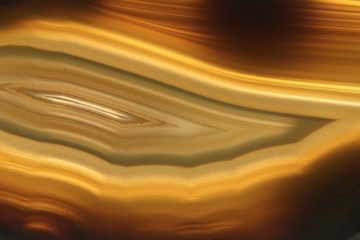brown agate gem background (macro, detail)