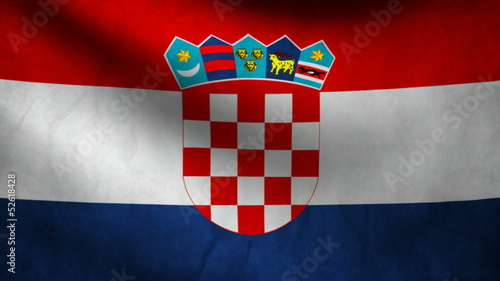 Croatia flag.