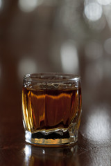 shot of bourbon