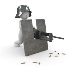 Stahlhelm Soldat