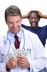 Greedy doctor