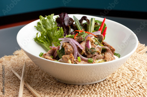 Num Tok Thai Steak Beef Salad