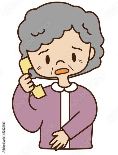 シニア 電話