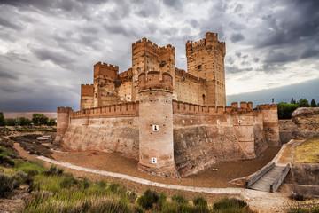 Castillo de la Mota in Medina del Campo, Valladolid, Spain