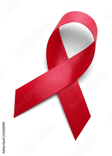 Red Support Ribbon - 52628004