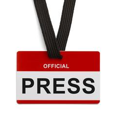 Official Press Pass