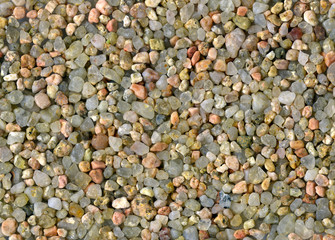 Macro close up of a beach sand