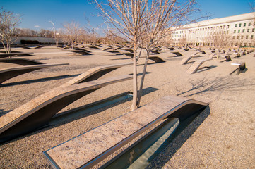 911 Memorial Victims Pentagon Attack in Arlington Virginia in th