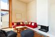 mountain home, comfortable living room, indoor