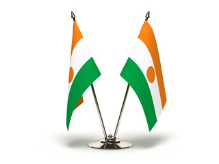 Miniature Flag of Niger
