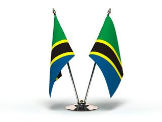 Miniature Flag of Tanzania