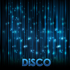 Abstact background. Disco Neon